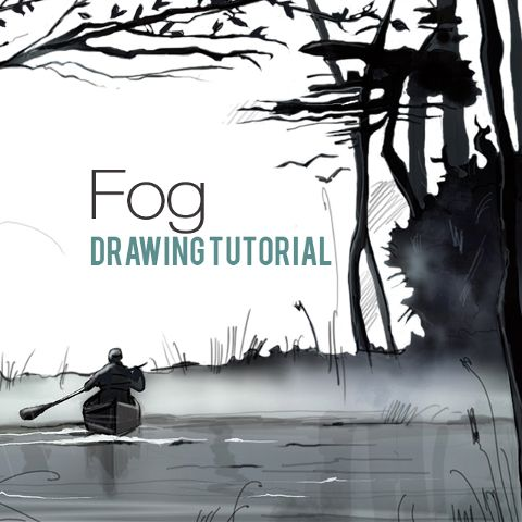 how to draw fog