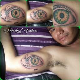 clockeye tattoo