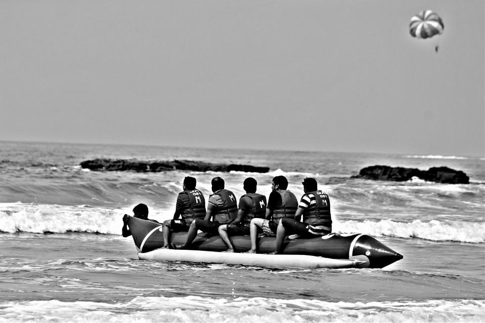 #beach #blackandwhite #hdr #people #photography #travel #summer