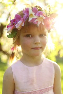 freetoedit colorful child flower flowers
