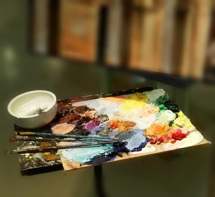 Painter voice #colorful #colorsplash