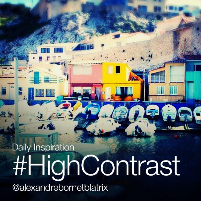 hight contrast photo editing