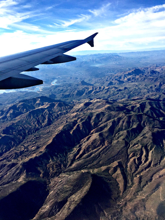 Fly over states #plane #art #interesting #photography #featured #philly to #california