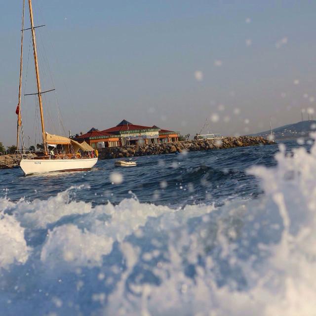 #sea #blue #peace #photography #myfavorite #niceday #istanbul #kalamış
