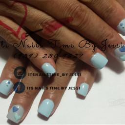 shortnails acrylicnails delicatenails bettinacolor vanity