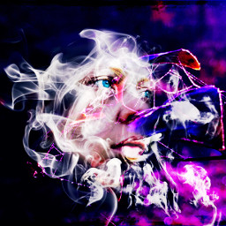 smoke artisticselfie colorplay vibranteffect