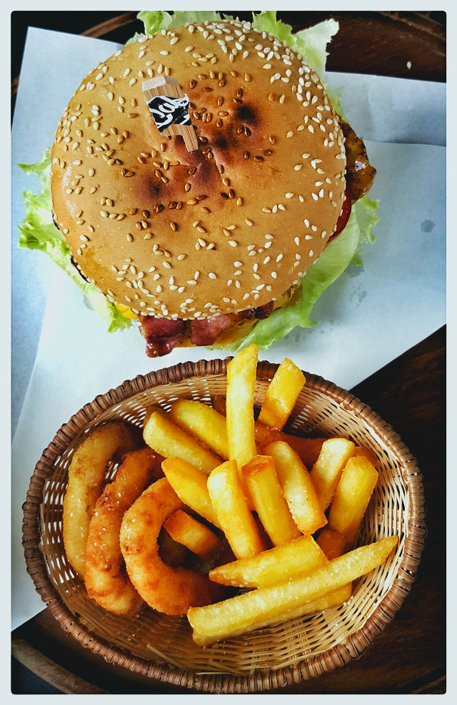 For good day #hamberger #food #delicious #yummy