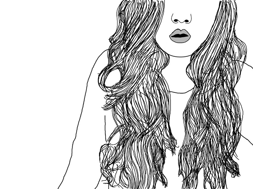 #tumblr  #blackandwhite #draw  #outline  #cute