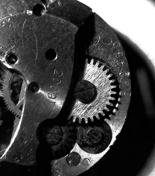 #closeup  #mechanical  #blackandwhite  #gears  #macro