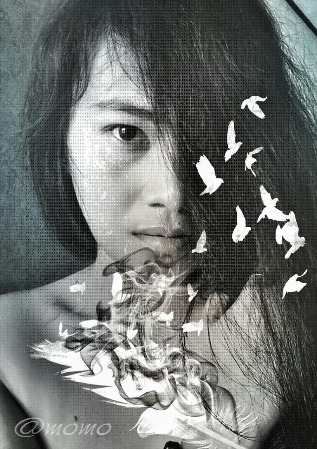 good morning dear friends :)* #texturemask #editing #myart #artisticselfie #freetoedit  my edtit for you dear ♥ @s1384