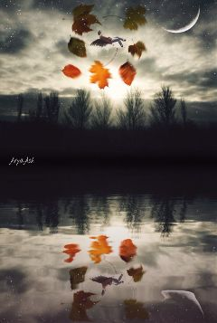 wapautumnvibes surreal seasons beautifypicsart fantasy