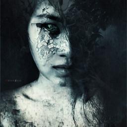 darkart artisticselfie editstepbystep illusions surreal