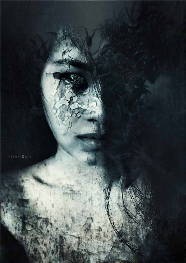 ًBy Art You Can Wash Away From  Your Soul The Dust Of Everyday Life   Original Photo By Dear Shie,   @s1384 @shie384   #darkart #artisticselfie #editstepbystep #illusions #surreal #emotions #lost #art
