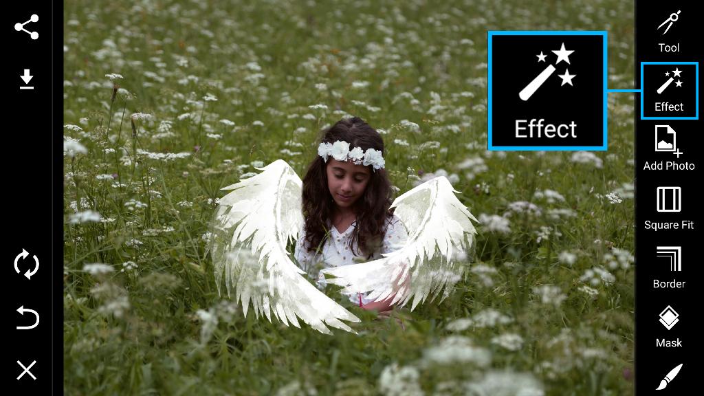 photo effects menu