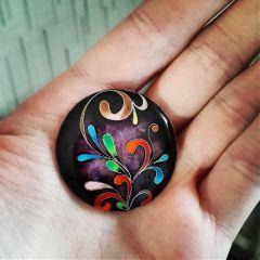art drawing ornament hot enamel