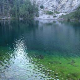 mountains pond explorealberta canmore canada