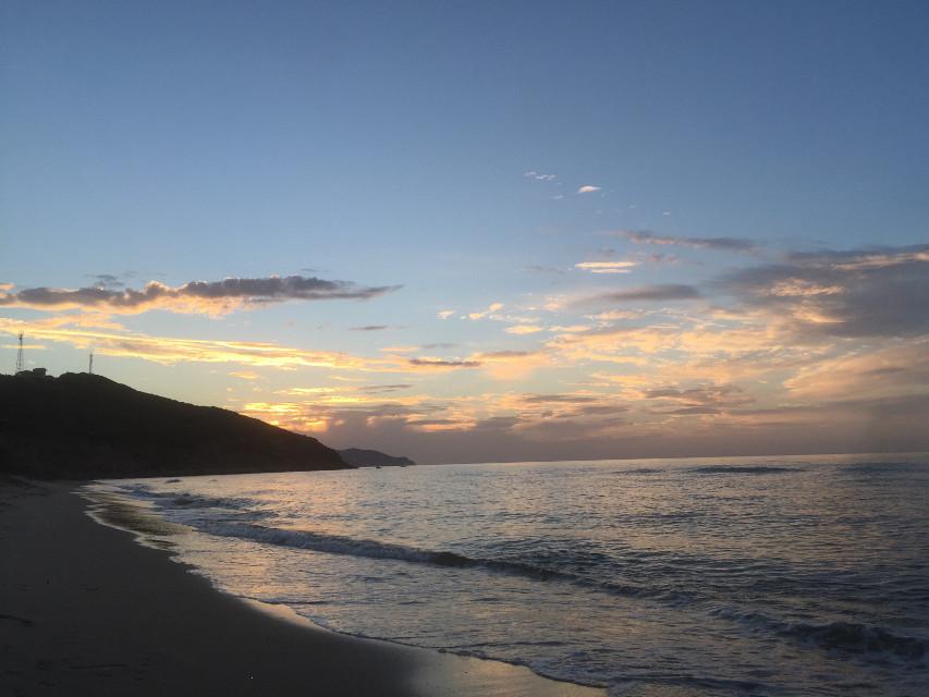 Sunrise ,tabarka beach