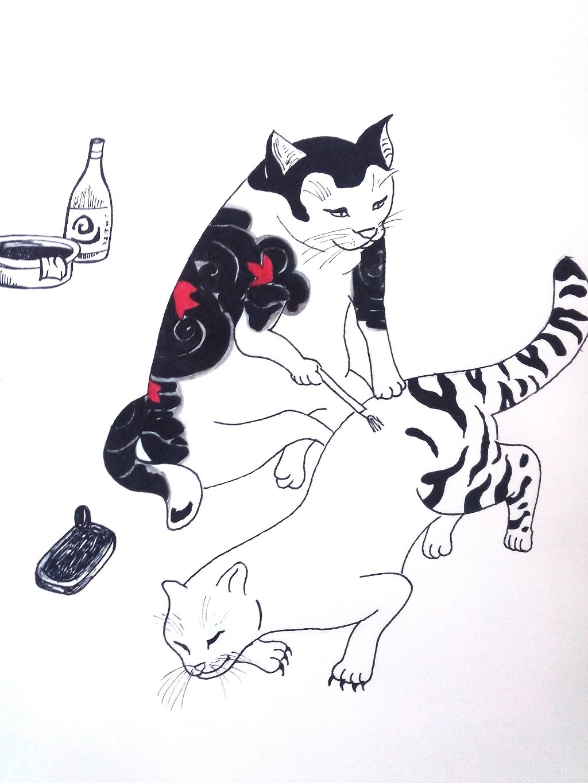#cat#paint