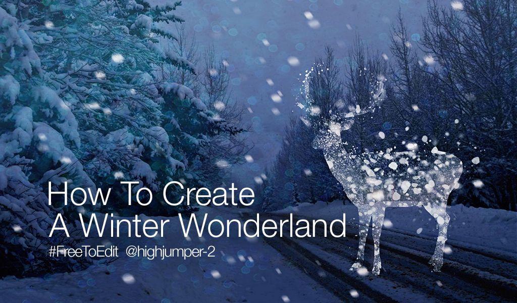 how to create winter wonderland
