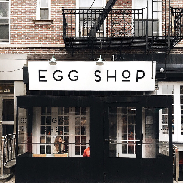 egg shop, NYC #newyorkcity