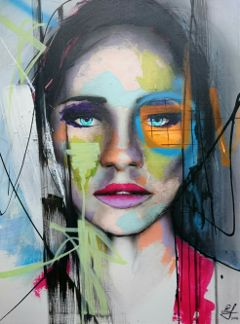 colorful portrait abstract dailyinspiration painting