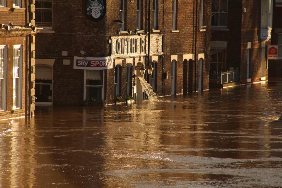 Floods York