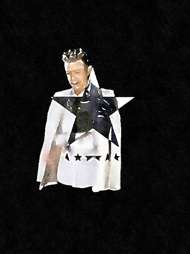 David Bowie photo edit