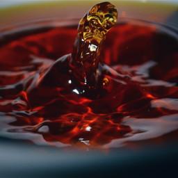 alien splash liquid tea colour