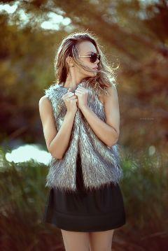 forest girl fashion summer