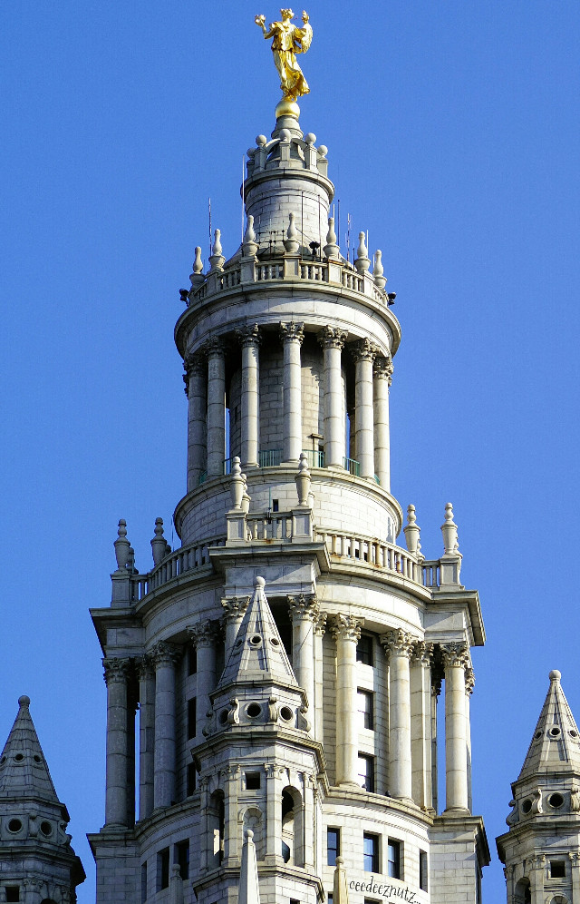 The municipal building at City Hall NYC.   #architecture #NYC #photography