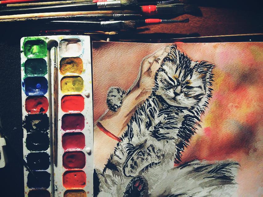 #art  #cat