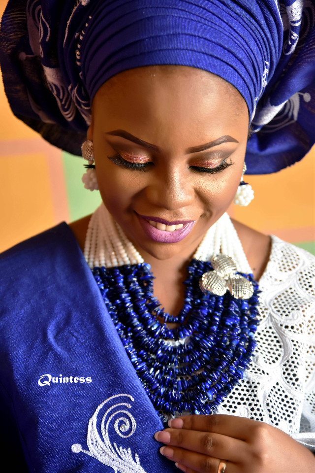 #Bridal in a typical African #wedding