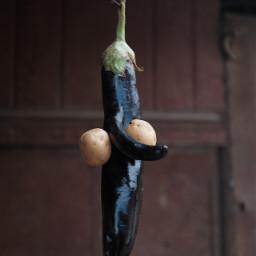 keepitsimple eggplant potatoes portrait nature