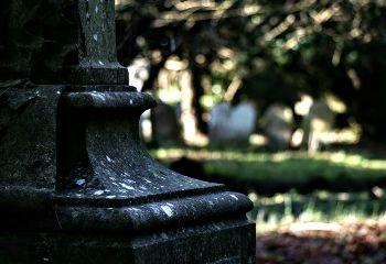 stone monument graveyard