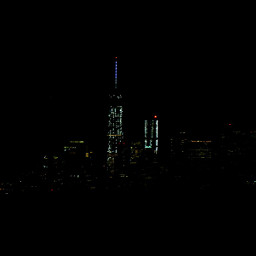 citylights manhattan newyork mycity chaos