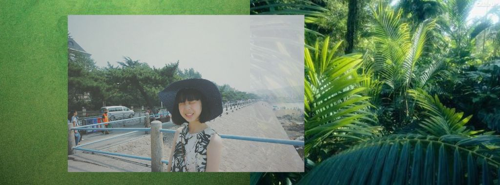 去年夏天在青岛