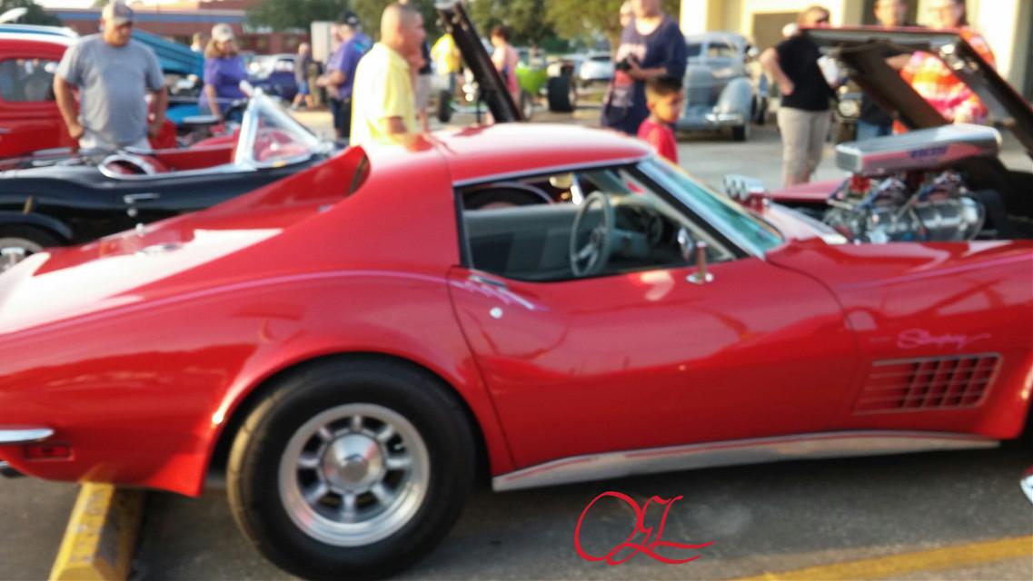 #Red  #Vette  #Car Show  #SlickAndSleek  #RoadRunnerBaby