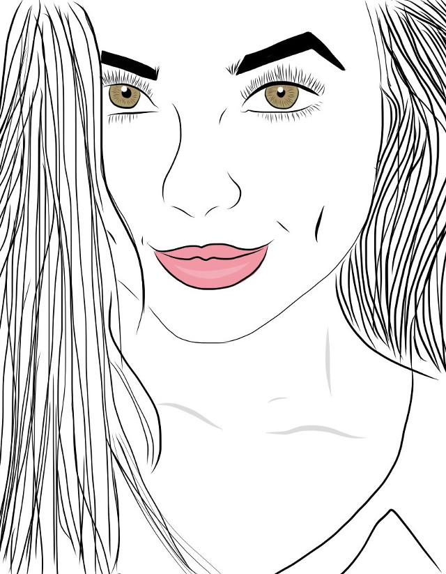 ❤️ #interesting  #drawing #outlines #merrelltwins #vanessamerrell #tumblr #FreeToEdit #wdpOutlines