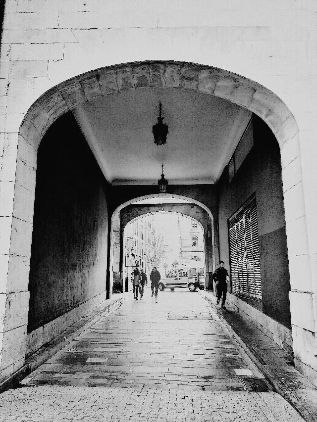 The Tunnel. Gijón. My look... GoodMorning #photography #people #emotions #gijon