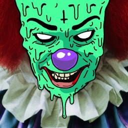 clown grimeart