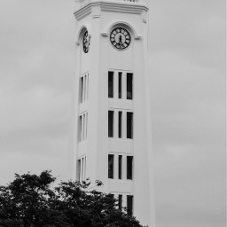 clock tower time blackandwhite photography