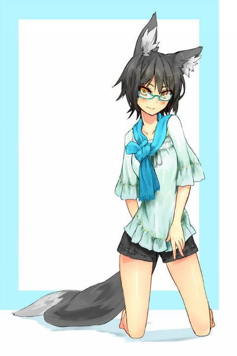 anime girl fox photos and images
