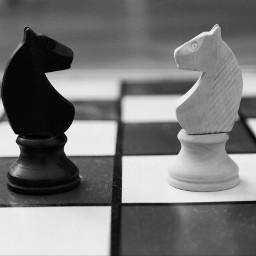 play game chess blackandwhite photography freetoedit