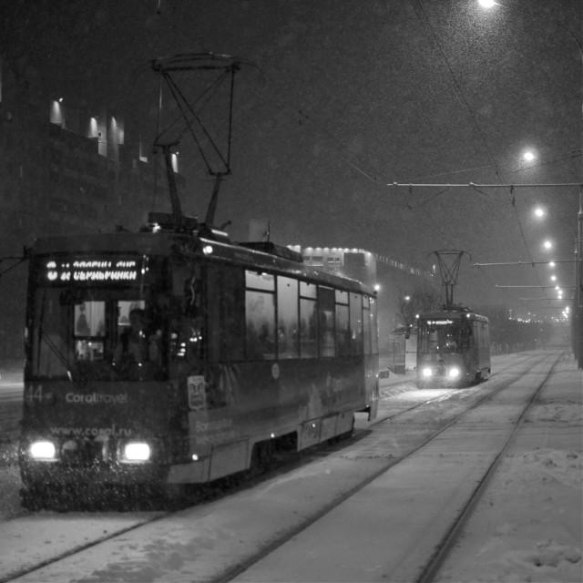 #blackandwhite   #snow   #photography   #winter  #city  #bw