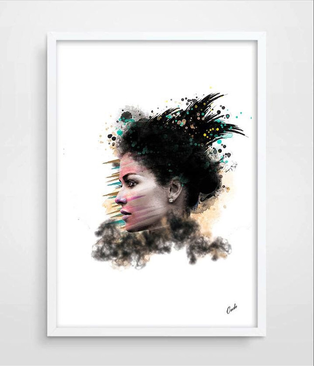 """#art #portrait #decoration #photographiy   Hello world ! All my new creations are available on """"a little market"""" web site, for instant download only, the shop name is 0ndeart, or mail me if you have a question about my work, joordan.v@gmail.com ☺️"""