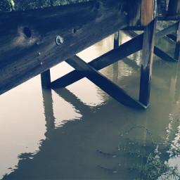 dock sea ocean persepective nature