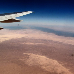 sky desert airplane love freedom