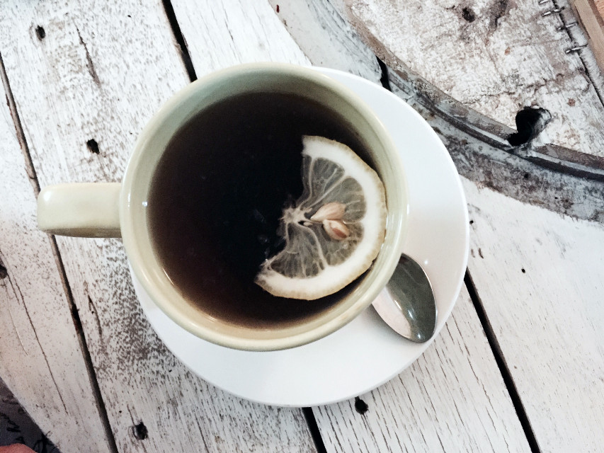 #goodmorning #breakfast #tea #lemon ☕️🍋