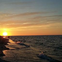 clouds dailyinspiration sea sunset summer