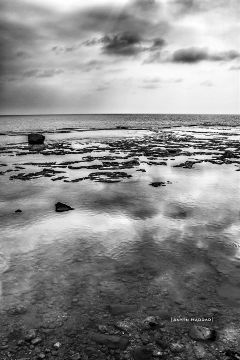 light blackandwhite transparency seascape sky